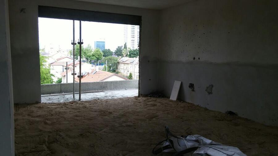 דירת קבלן בבניה