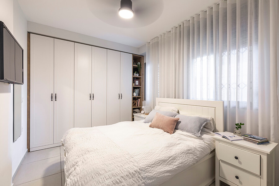 בריזה טבעית בחדר השינה | צילום: יאנה דודלר