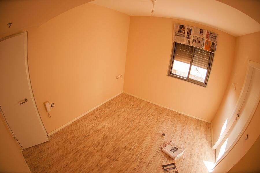 החדר הכתמתם- לפני